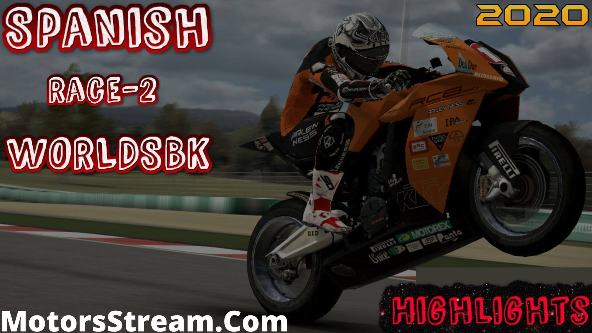 Spanish Race 2 Highlights 2020 WORLDSBK