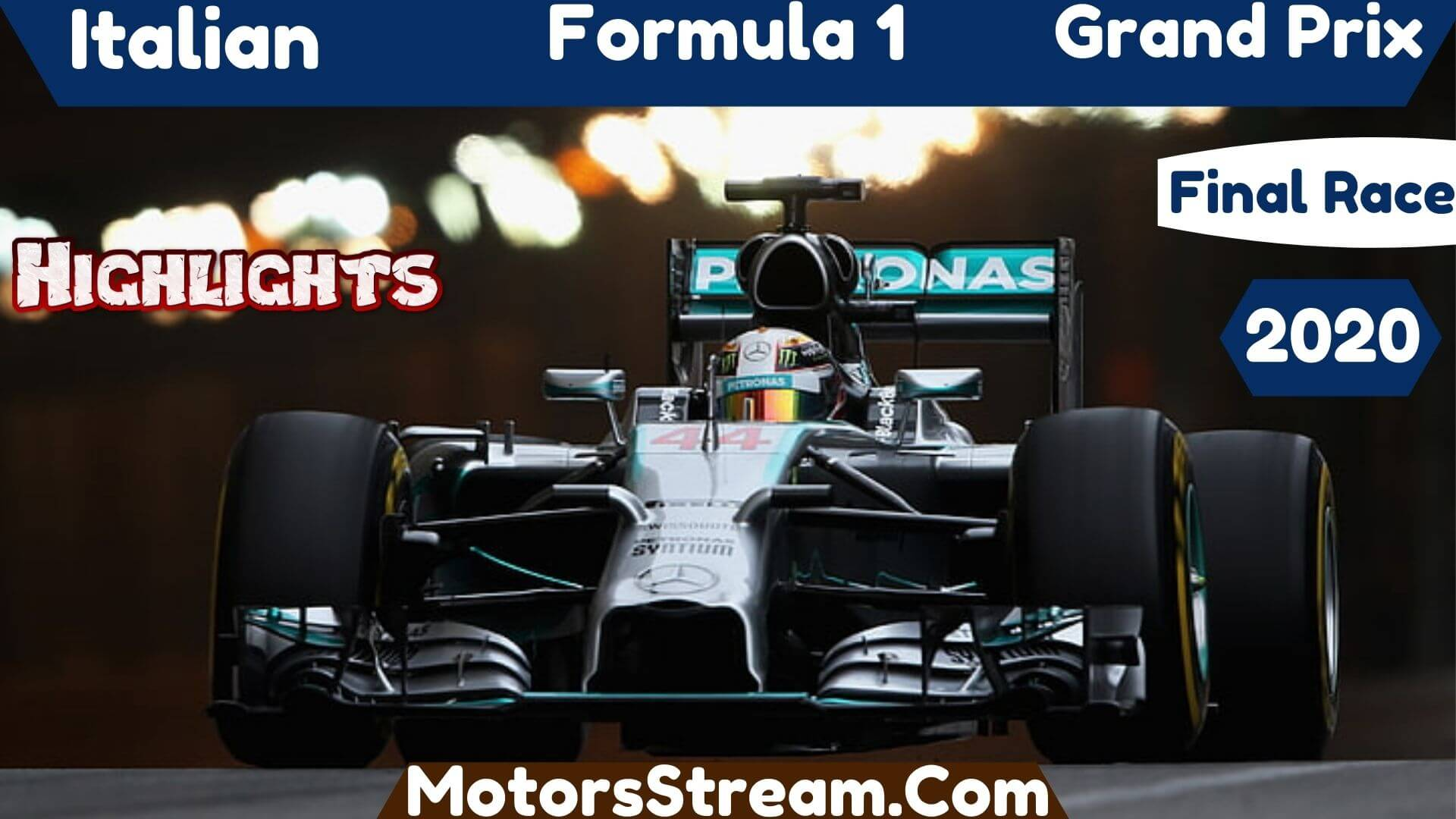 Italian Grand Prix Final Race Highlights 2020 Formula 1