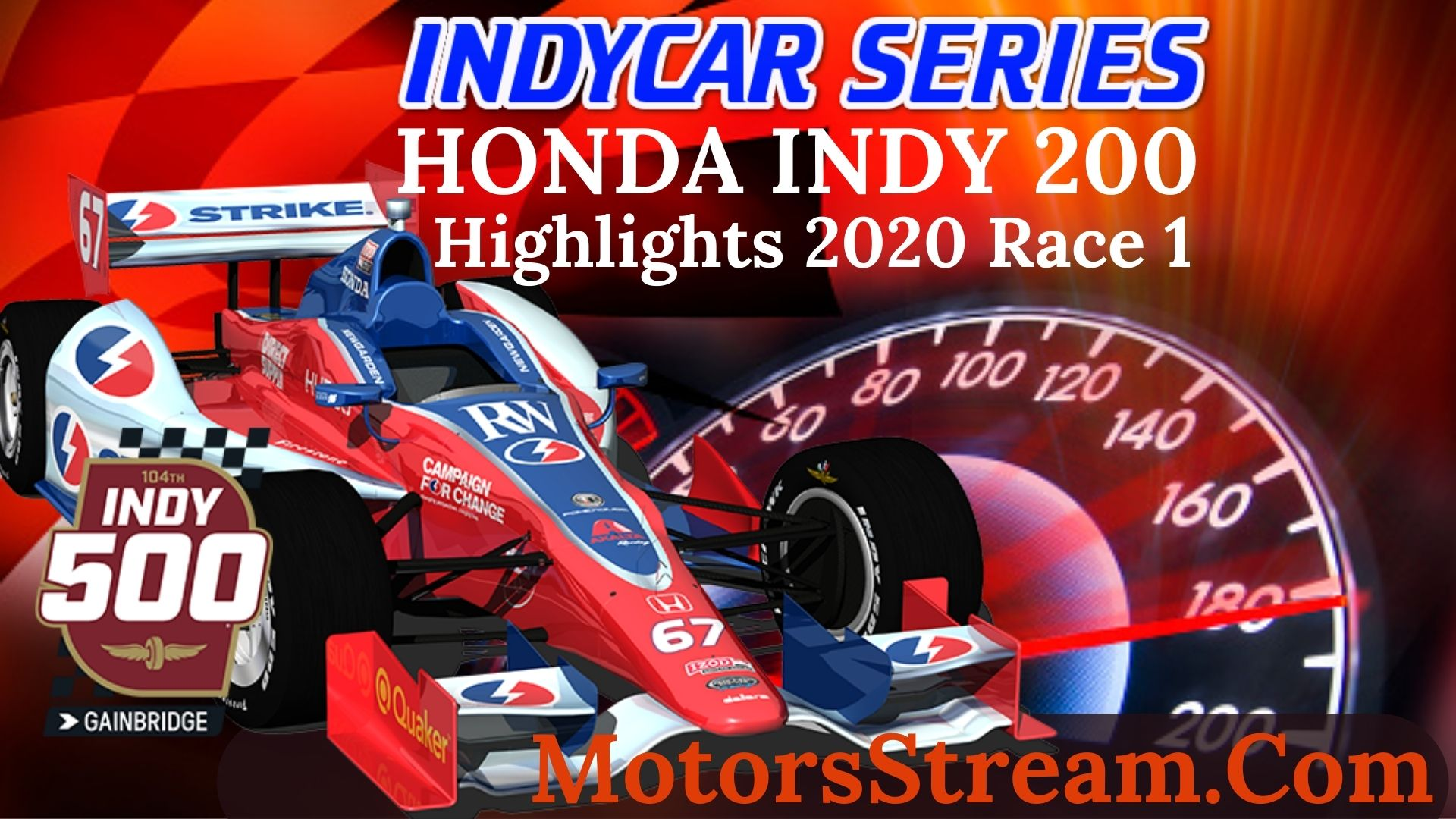 Honda Indy 200 Race 1 Highlight 2020 INDYCAR