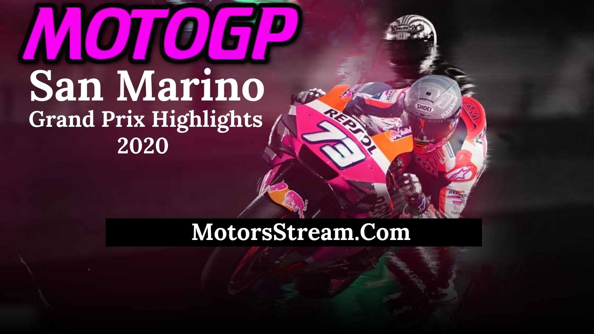 San Marino Grand Prix Highlights 2020 MotoGP