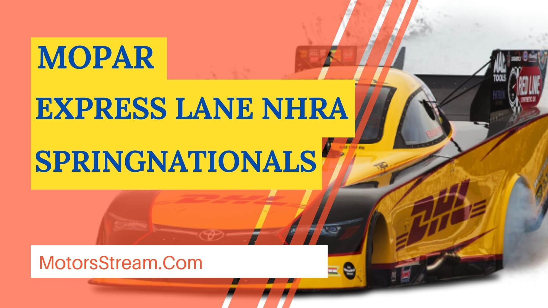 Live Mopar Express Lane NHRA SpringNationals 2020