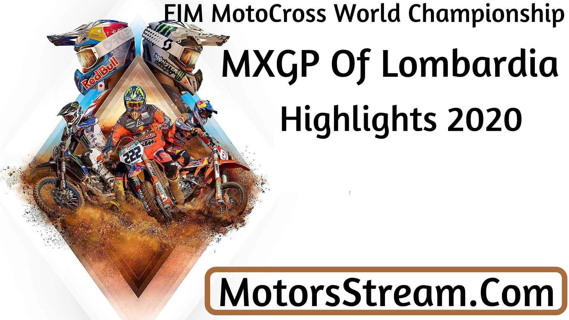MXGP Of Lombardia Highlights 2020