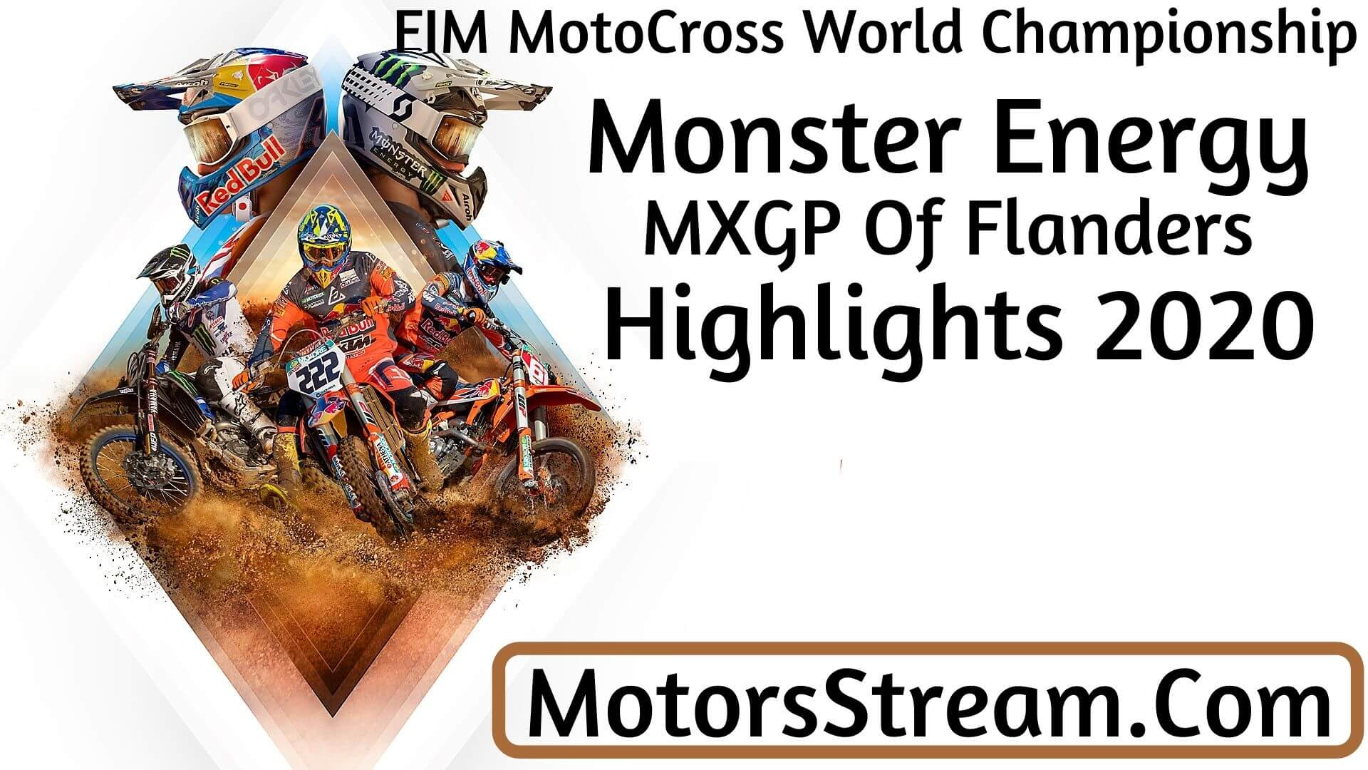 Monster Energy MXGP of Flanders Highlights 2020