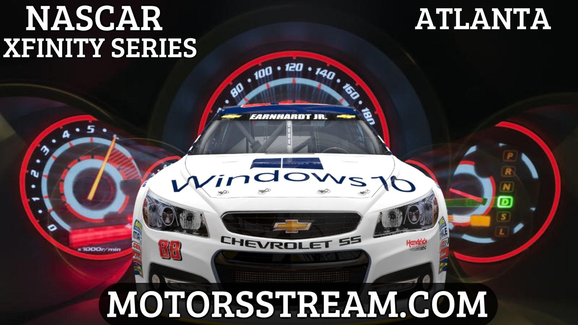NASCAR Xfinity Series Race At Atlanta Live Stream   Atlanta 2021