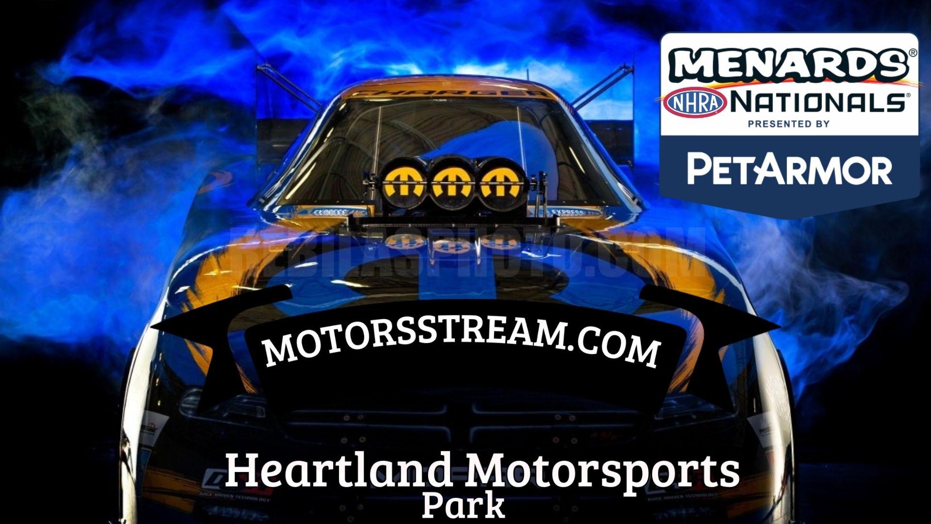 Menards NHRA Nationals 2021 Live Stream