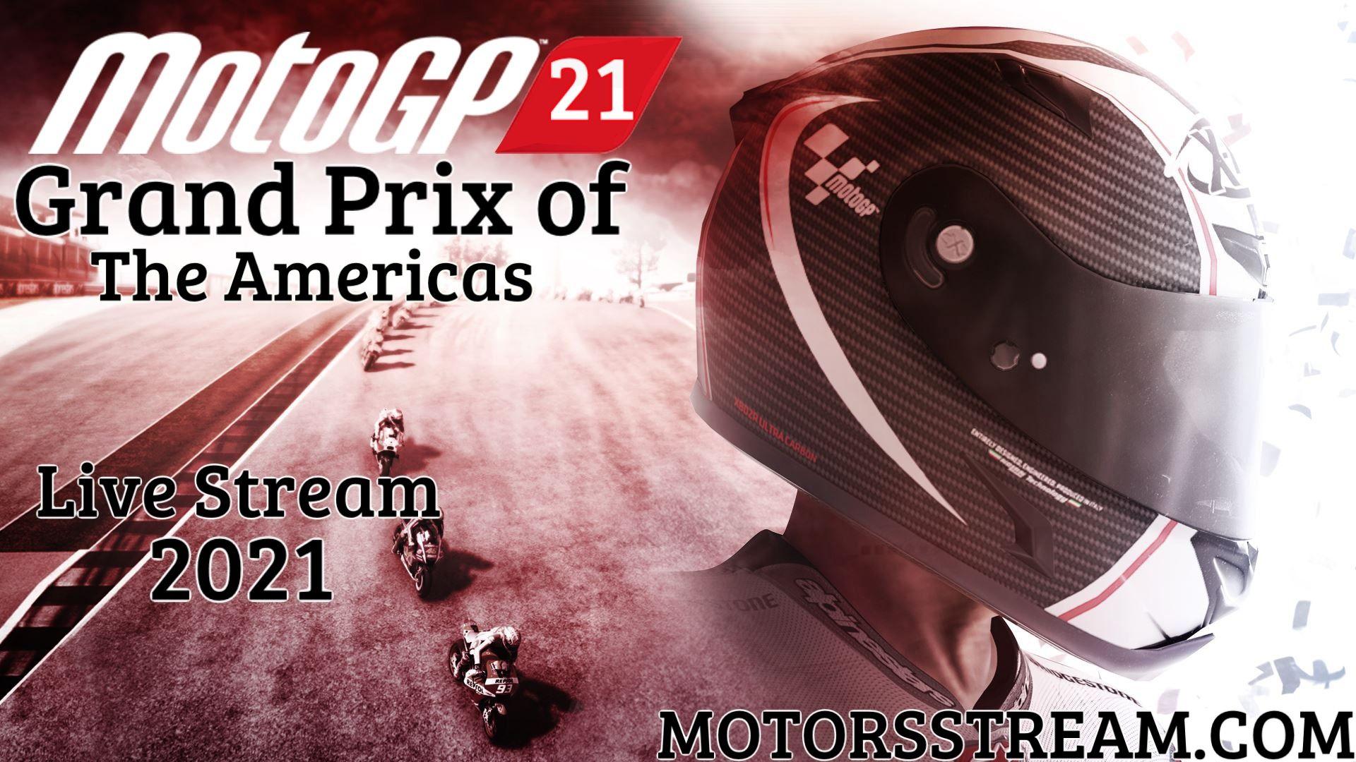 MotoGP The Americas Live Stream 2021 | Race