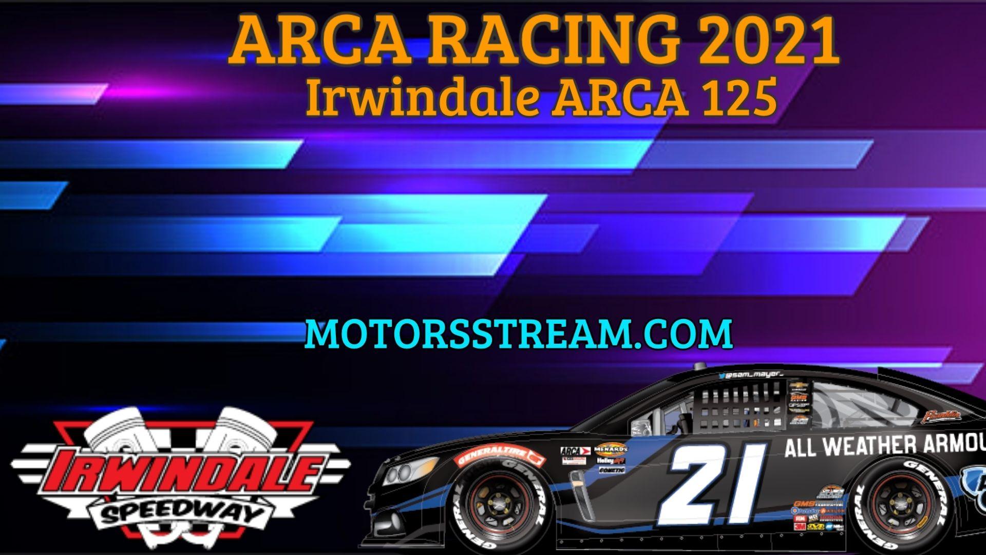 NAPA Auto Parts 150 Live Stream 2021 Arca Racing