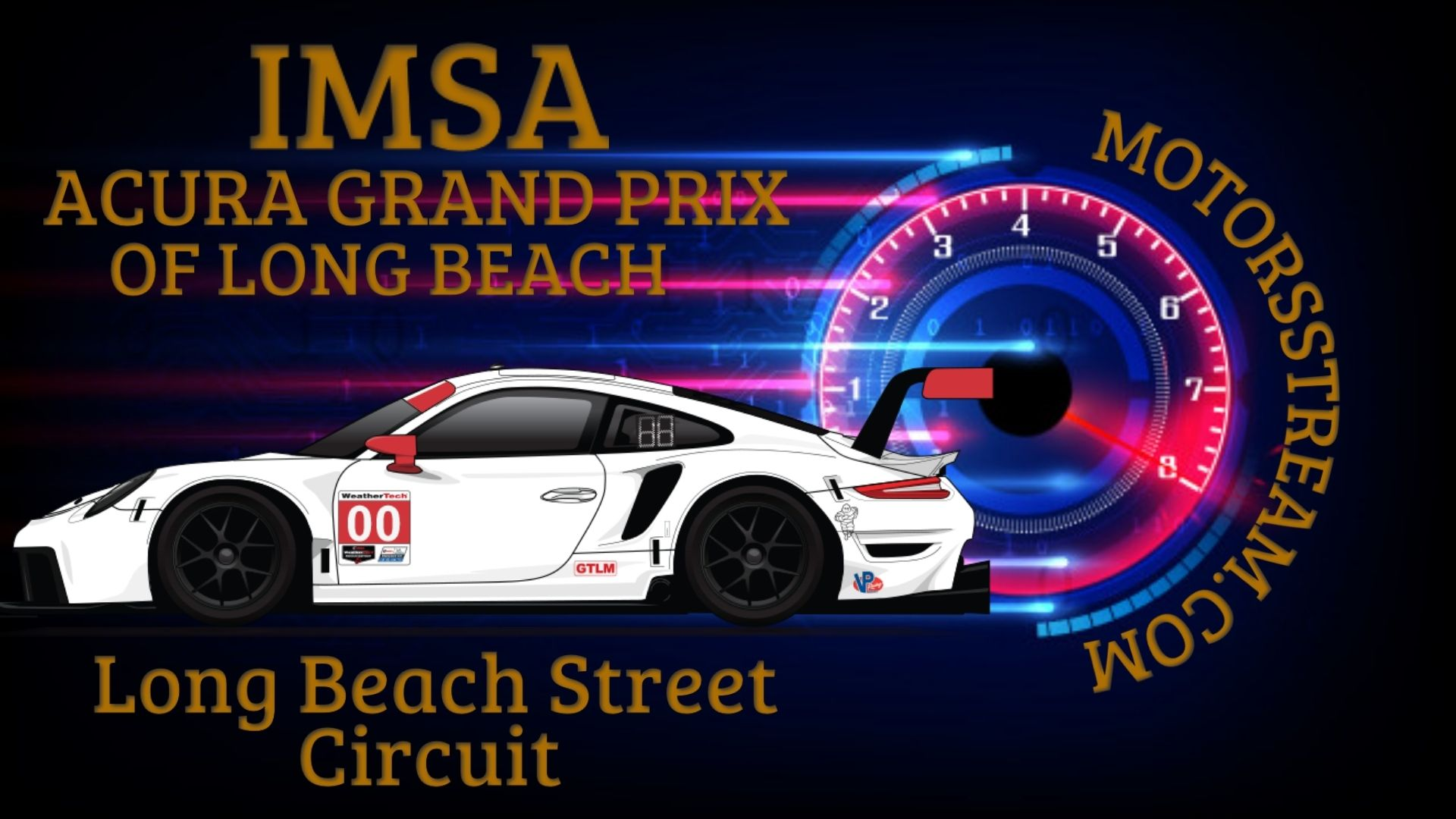 Acura Grand Prix Of Long Beach IMSA | Live Stream 2021