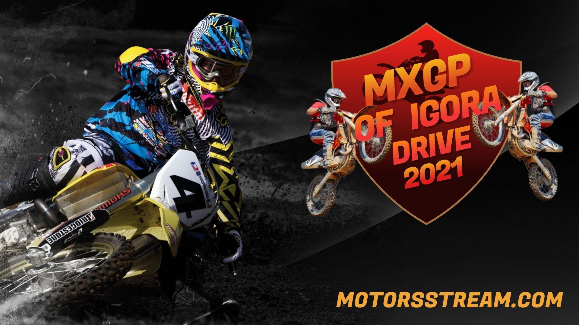 FIM Motocross WC Igora Drive Live Stream 2021 | MXGP