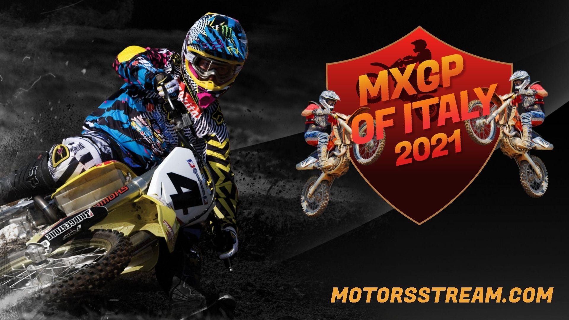 FIM Motocross WC Italy Live Stream 2021 | MXGP