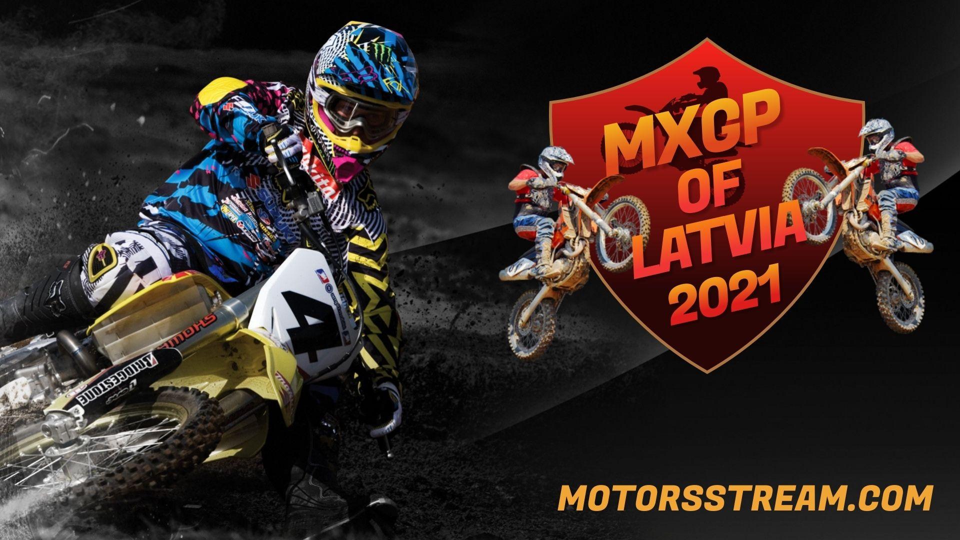 FIM Motocross WC Latvia Live Stream 2021 | MXGP
