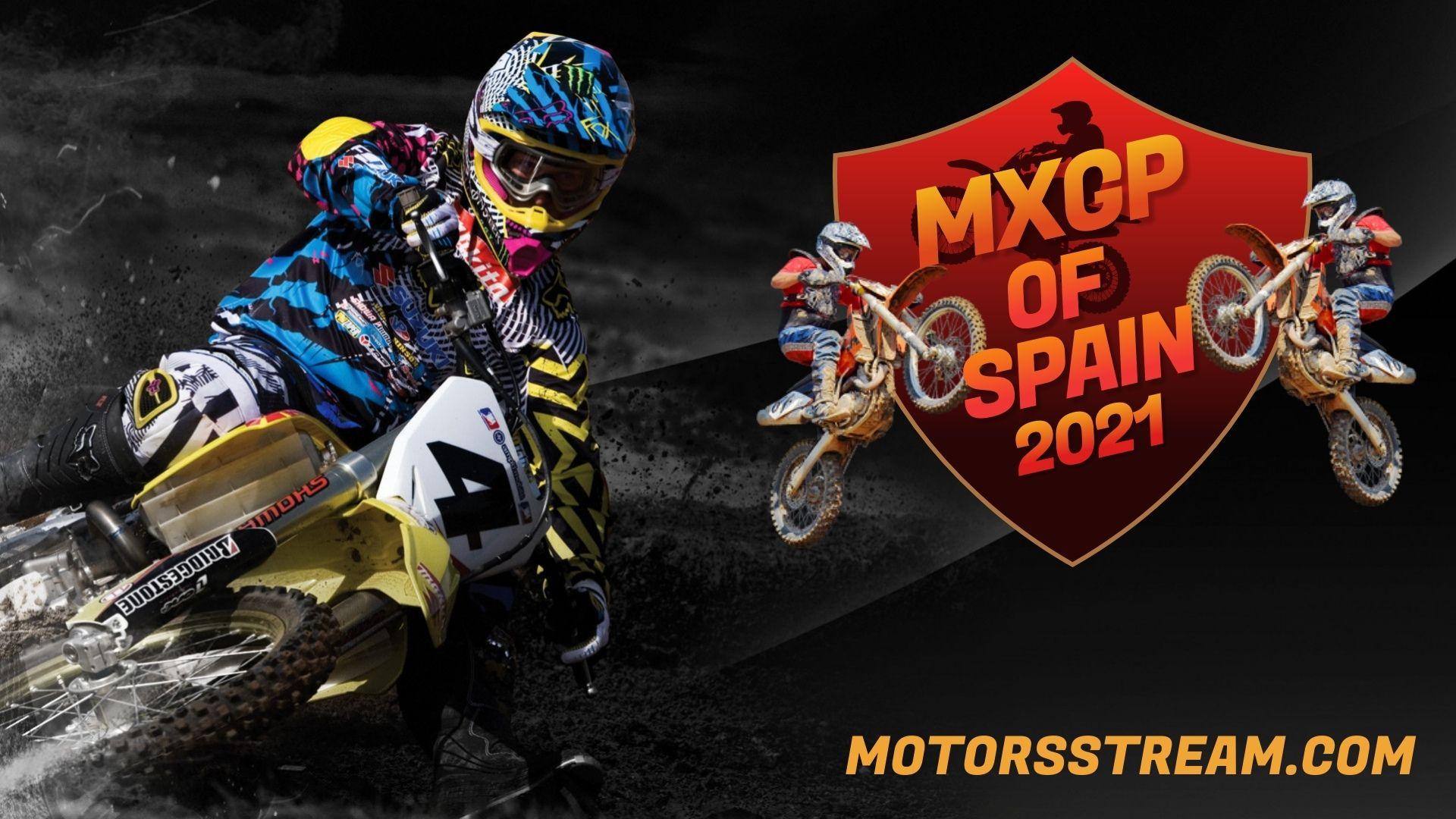 FIM Motocross WC Spain Live Stream 2021 | MXGP