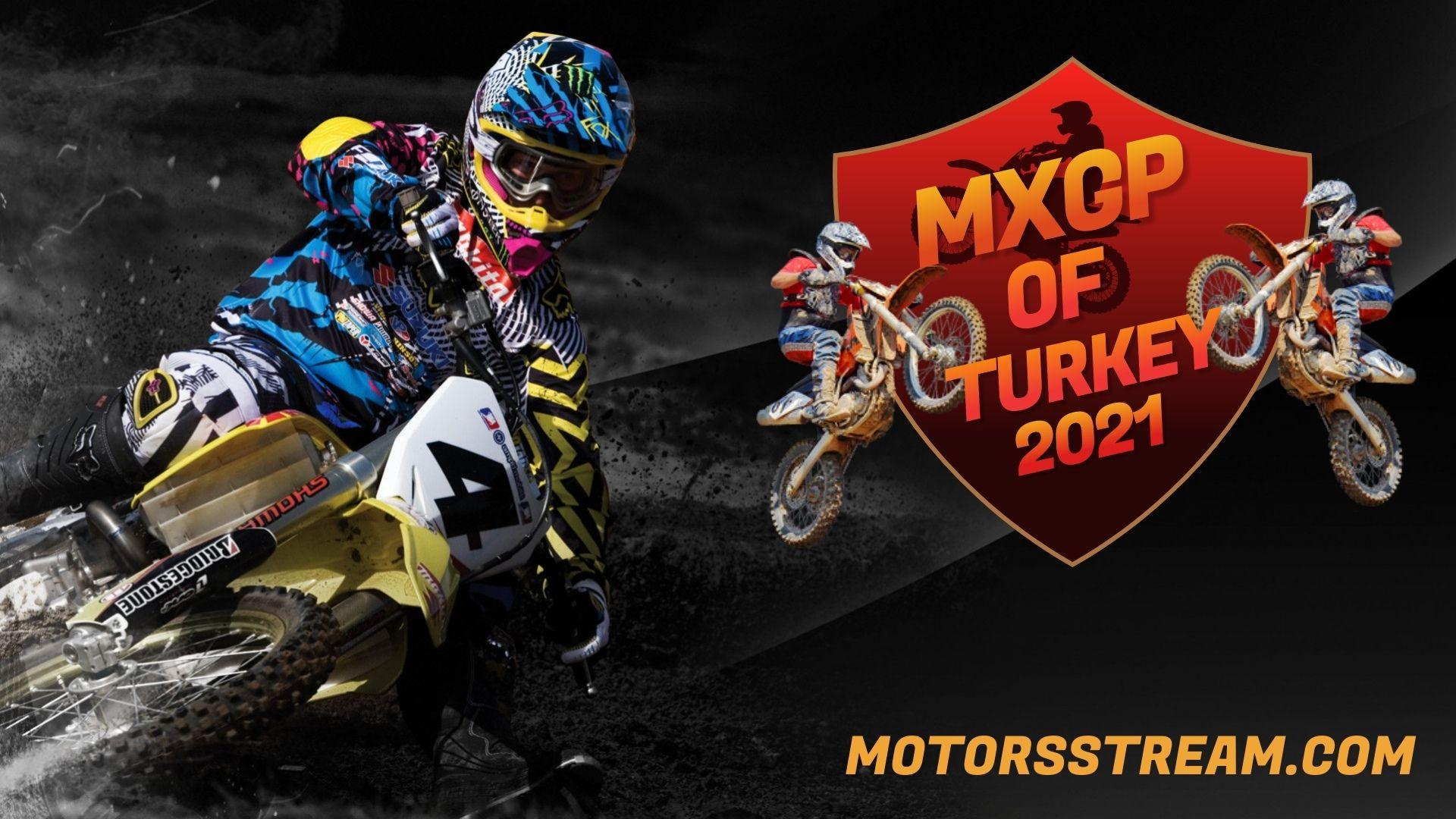 FIM Motocross WC Turkey Live Stream 2021 | MXGP