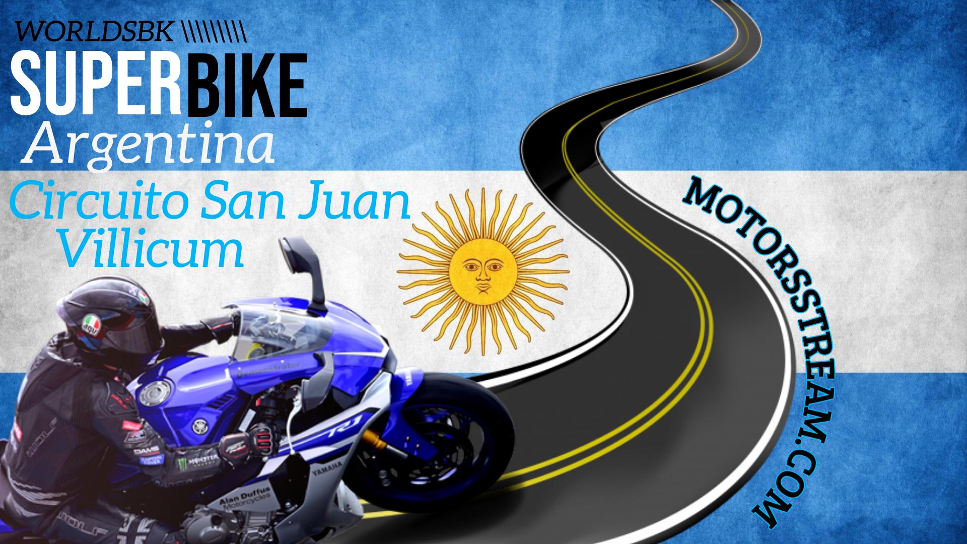 Argentina WSBK Round 10 Live Stream 2021
