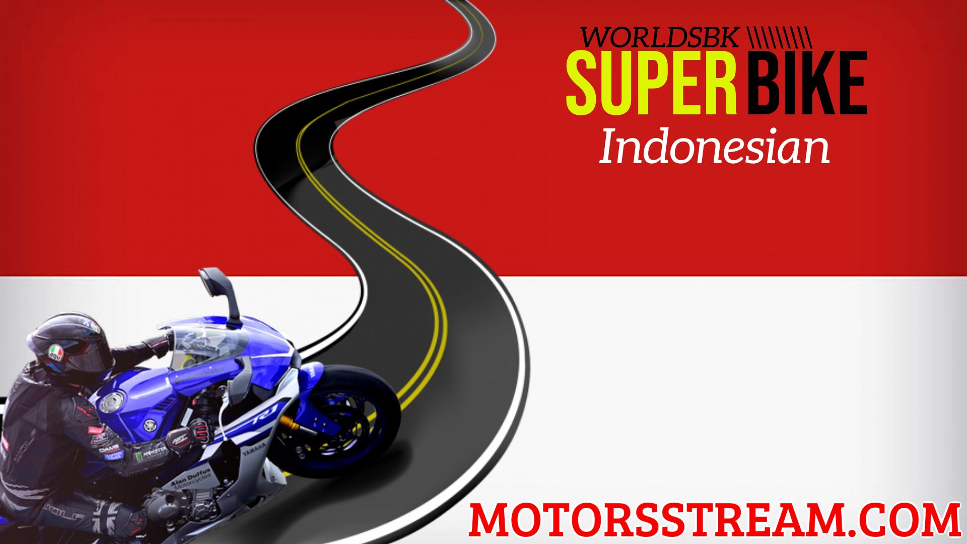 Indonesian WSBK Round 11 Live Stream 2021