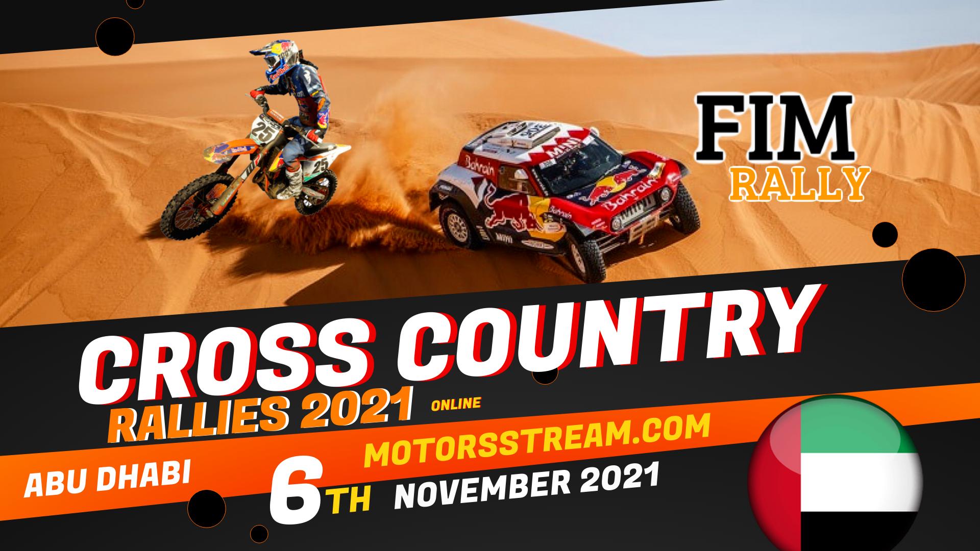 Abu Dhabi Cross Country Rallies Live Stream 2021
