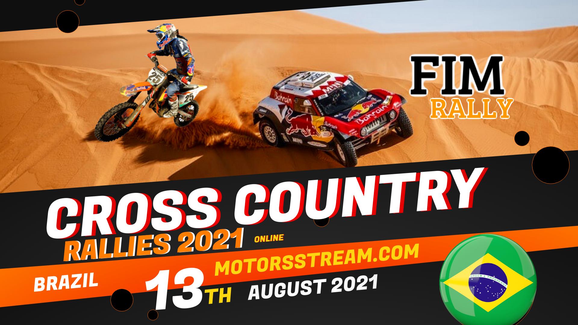 Brazil Cross Country Rallies Live Stream 2021