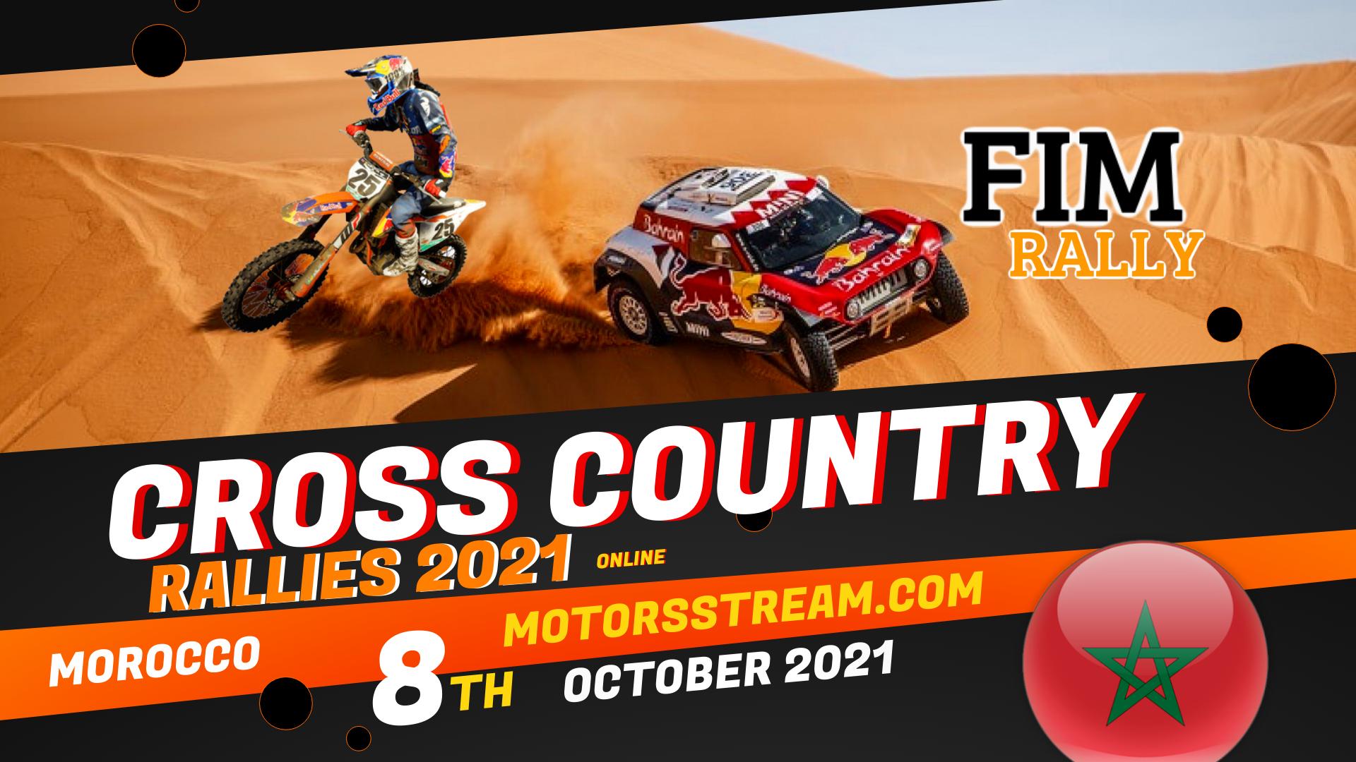 Morocco Cross Country Rallies Live Stream 2021