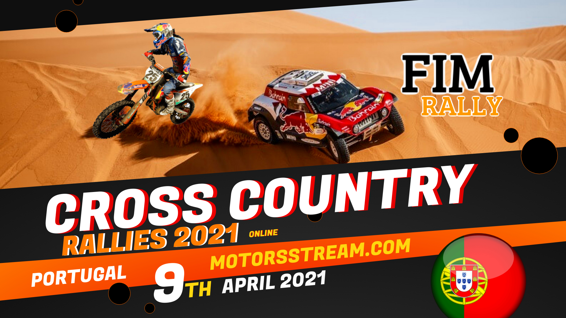 Portugal Cross Country Rallies Live Stream 2021