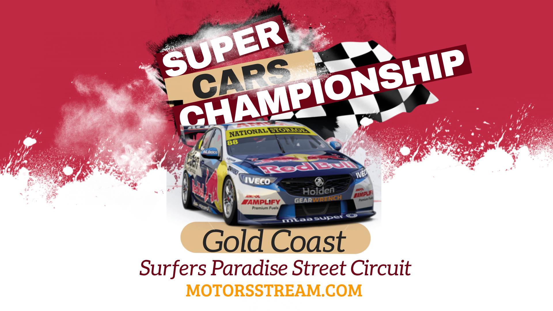 Gold Coast Live Stream 2021 | V8 Supercars