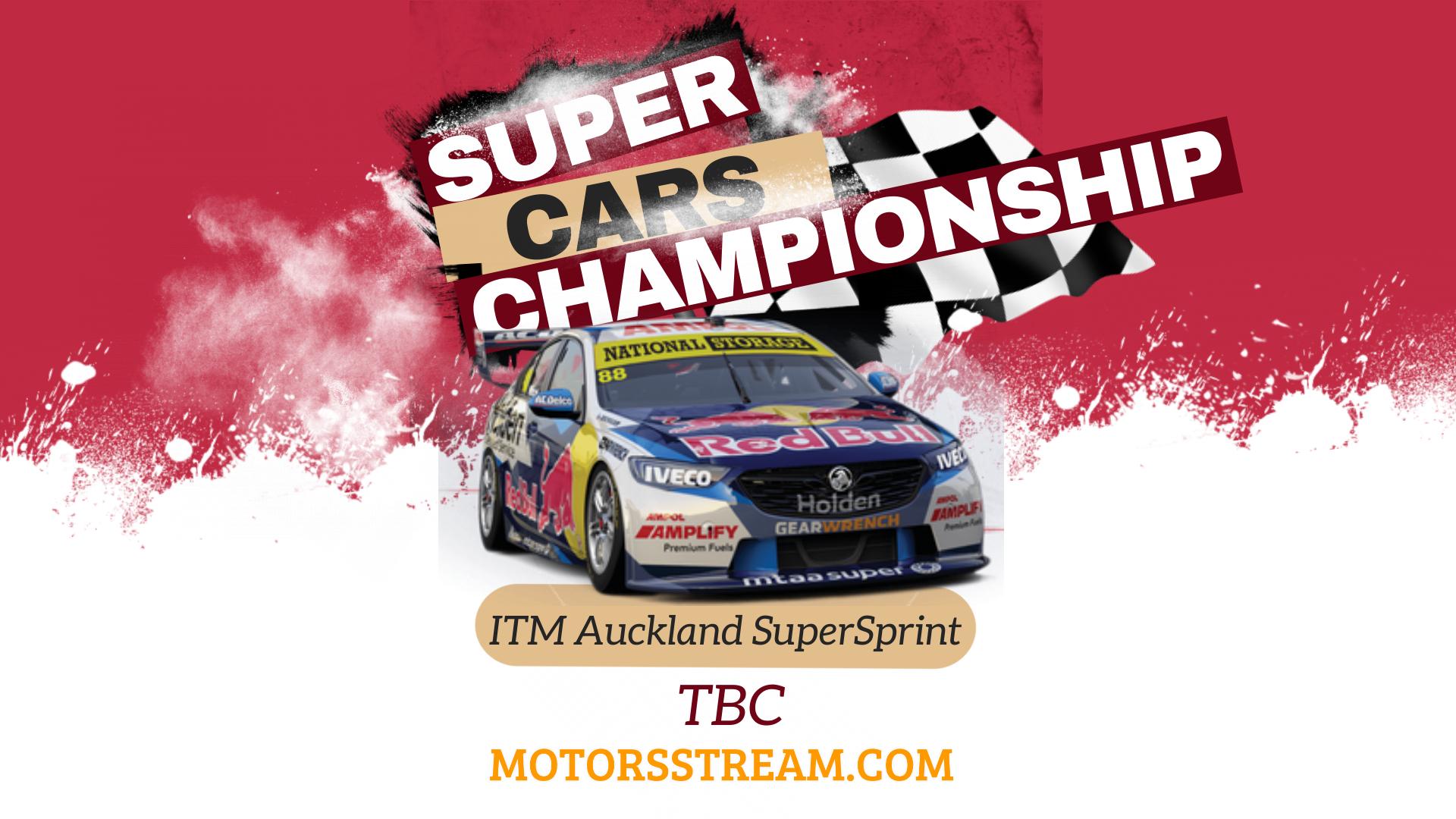 ITM Auckland SuperSprint Live Stream 2021 | V8 Supercars