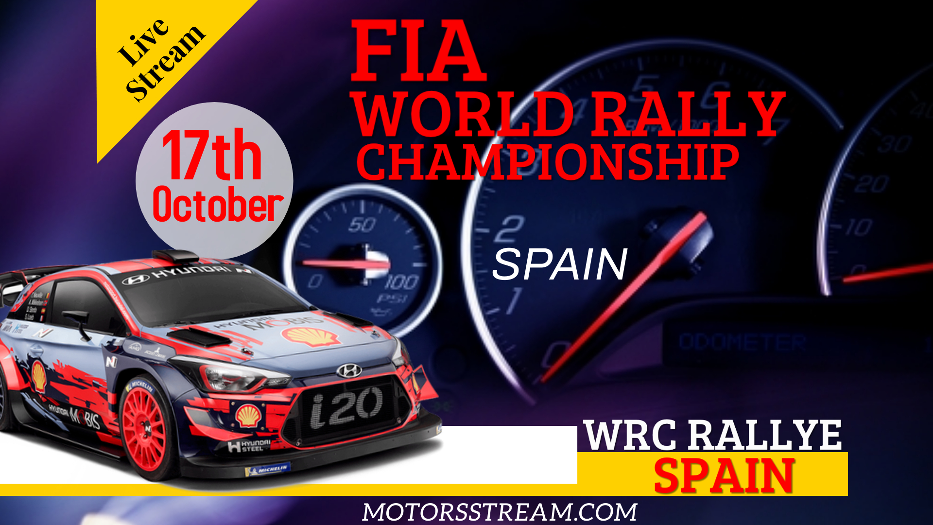 Rally Spain WRC Live Stream 2021 | Round 11