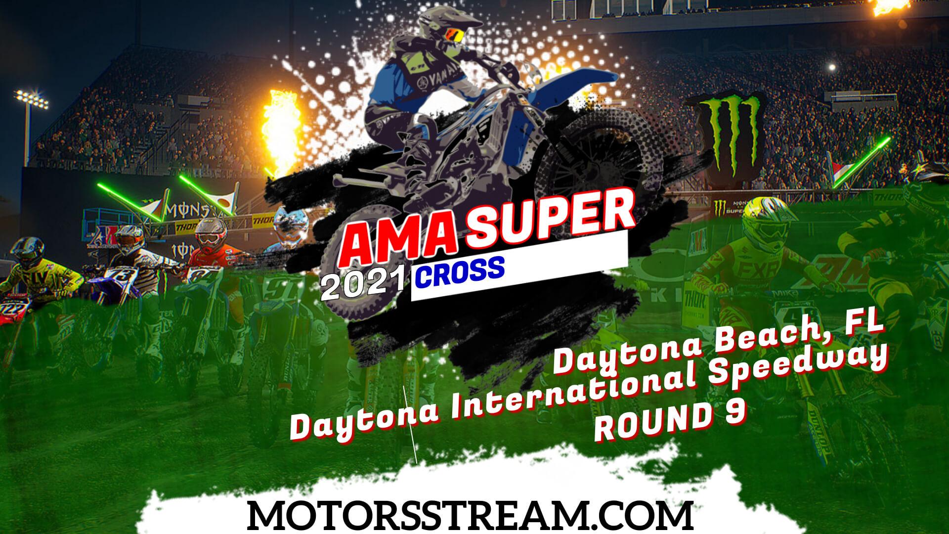 Supercross Daytona Beach, FL Round 9 Live 2021 | Full Race Replay