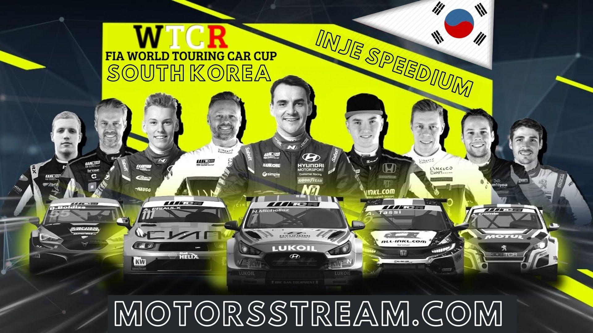 WTCR South Korea Live Stream 2021 | Round 12