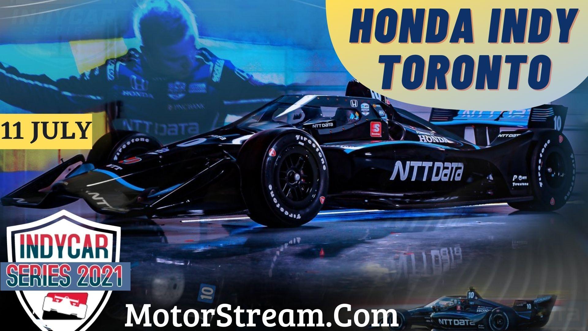 Honda Indy Toronto Live Stream 2021