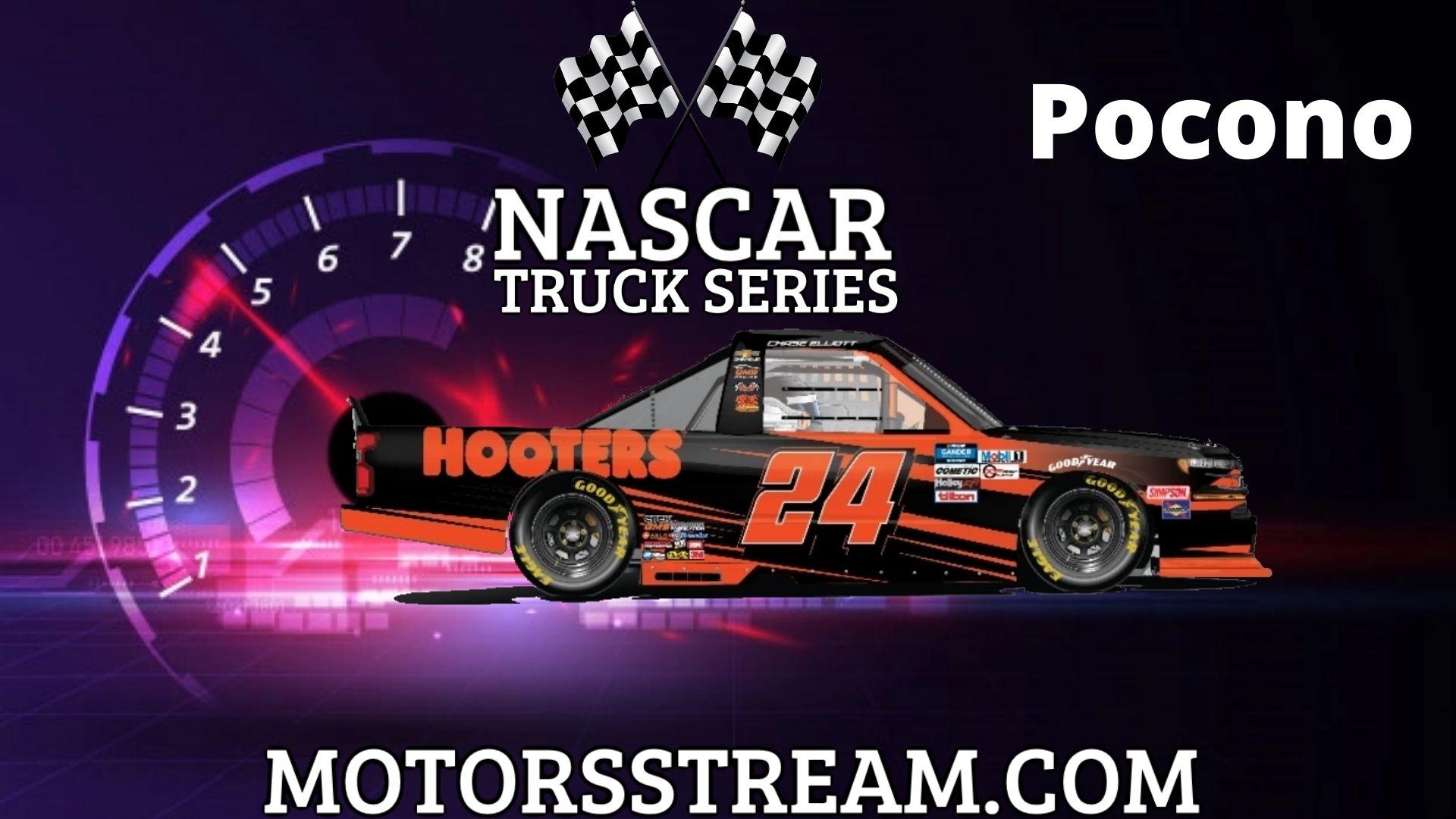 NASCAR Truck Series Race At Pocono Live Stream   Pocono 2021