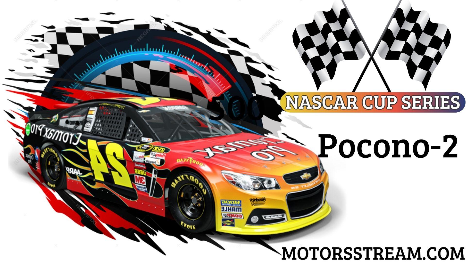 NASCAR Cup Series Race At Pocono 2 Live Stream   Pocono 2021
