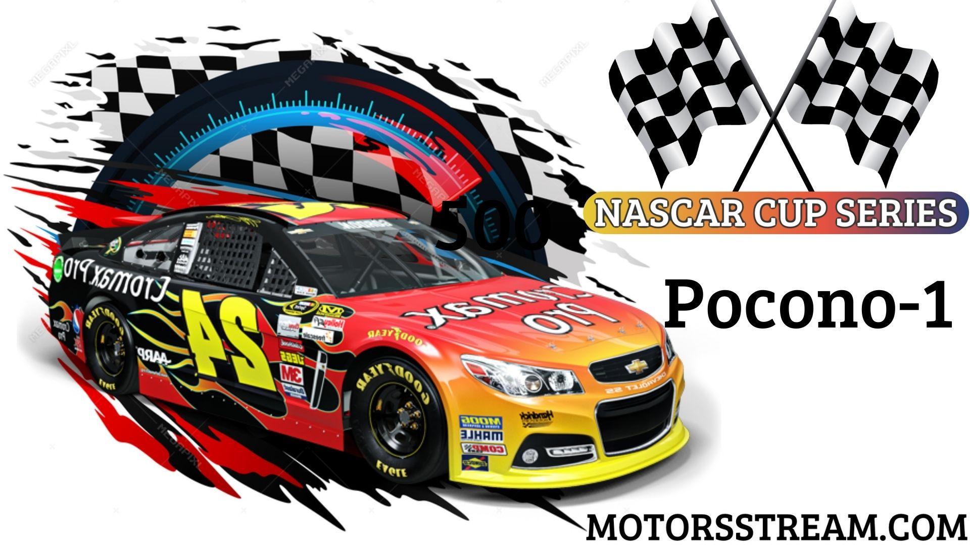 NASCAR Cup Series Race At Pocono 1 Live Stream   Pocono 2021