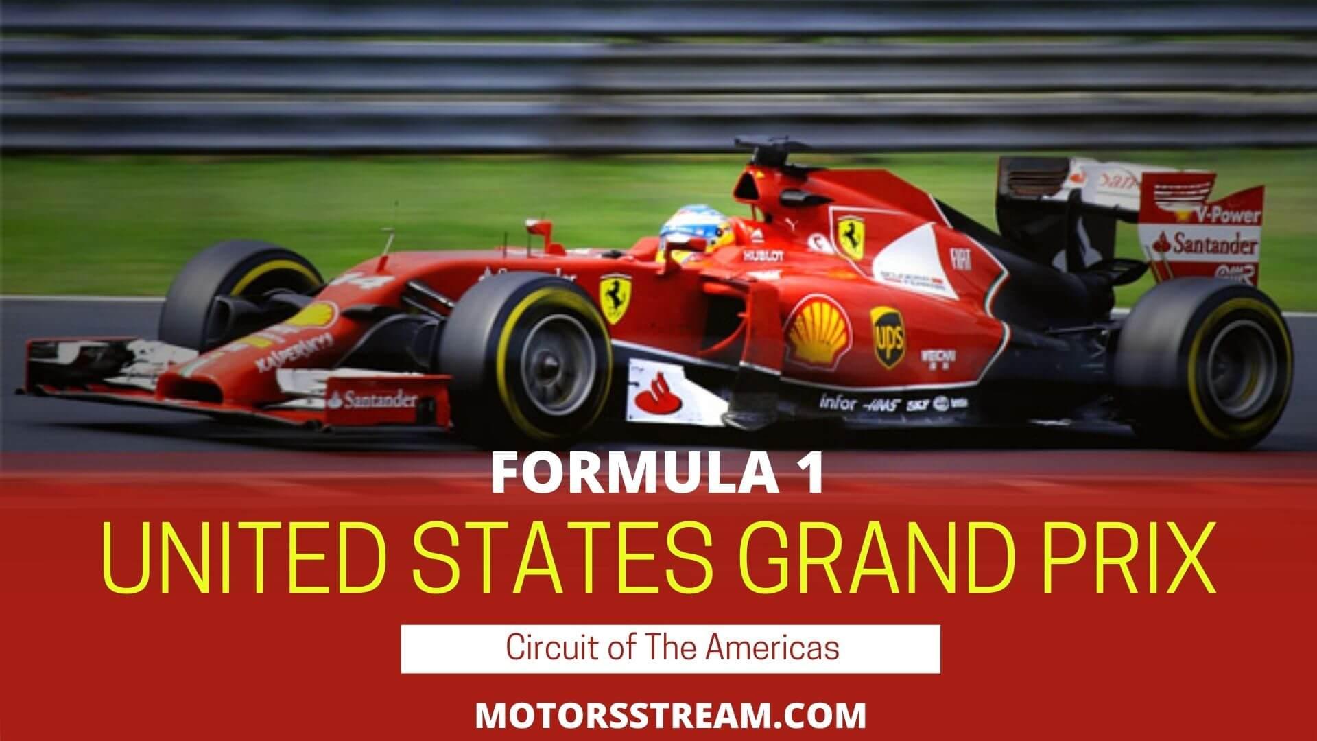F1 United States GP Live Stream 2021 | Race Replay