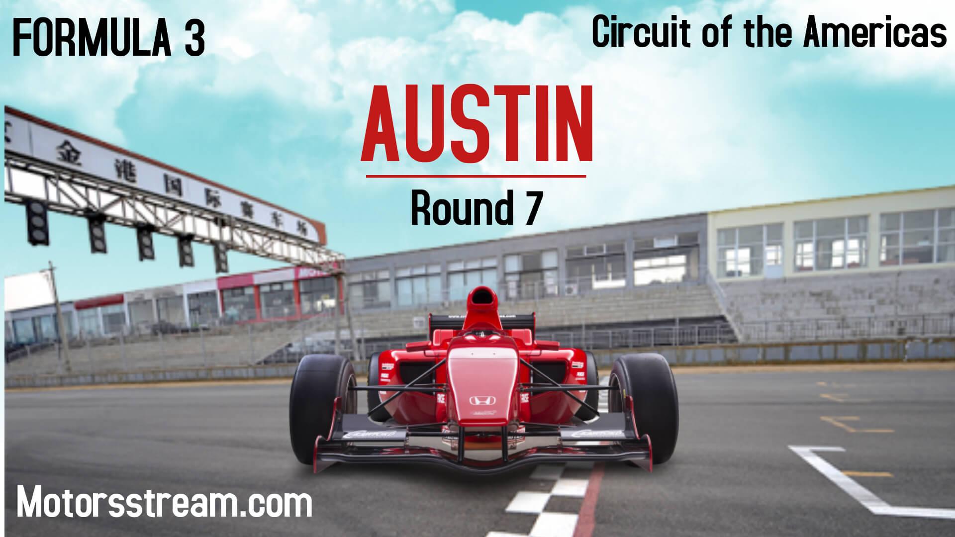 Austin Grand Prix Live Stream 2021 | Formula 3