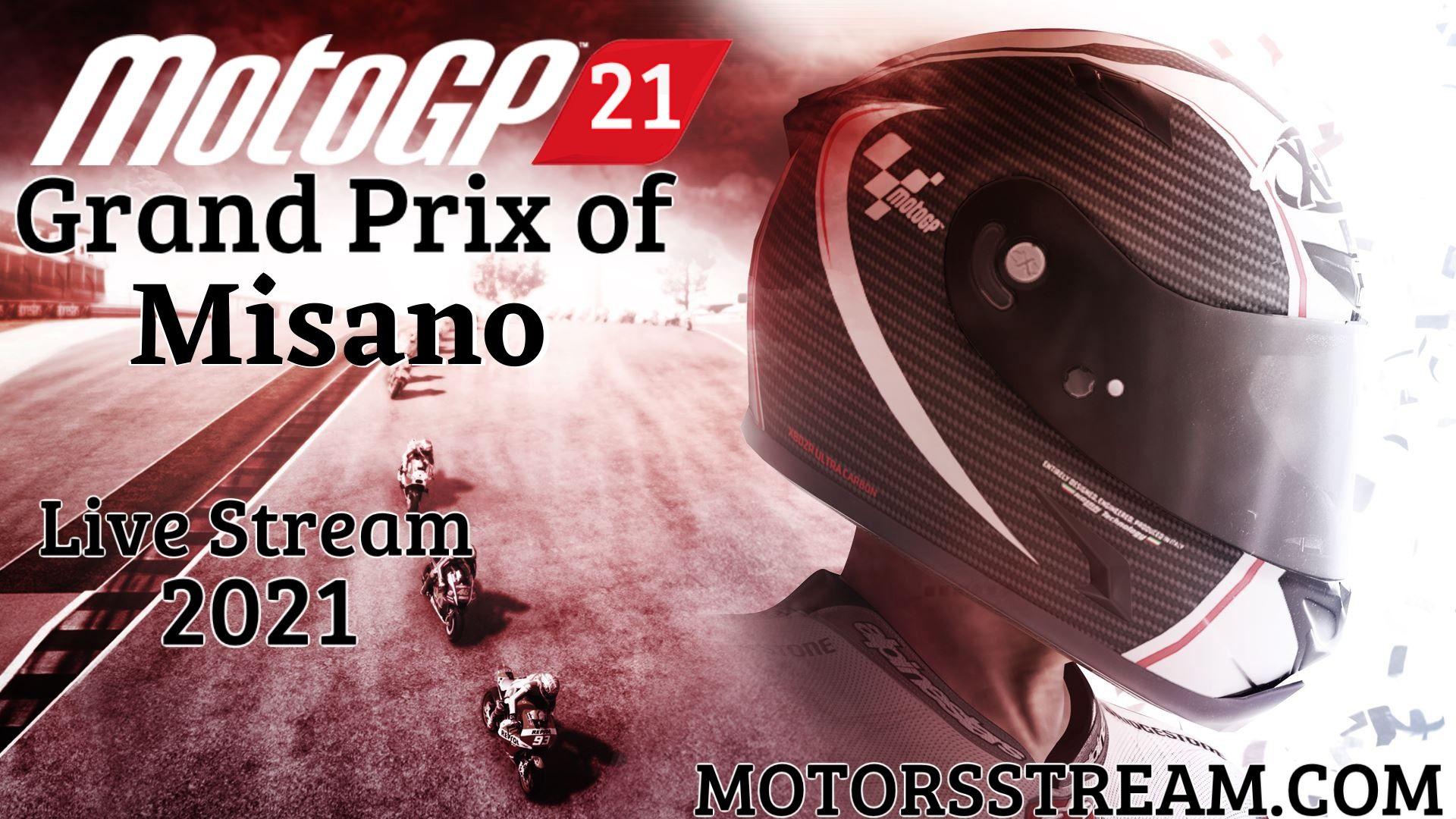 MotoGP Misano Live Stream 2021 | Race