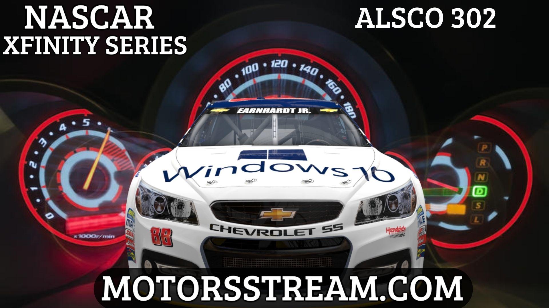Alsco 302 Live Stream | NASCAR Xfinity 2021