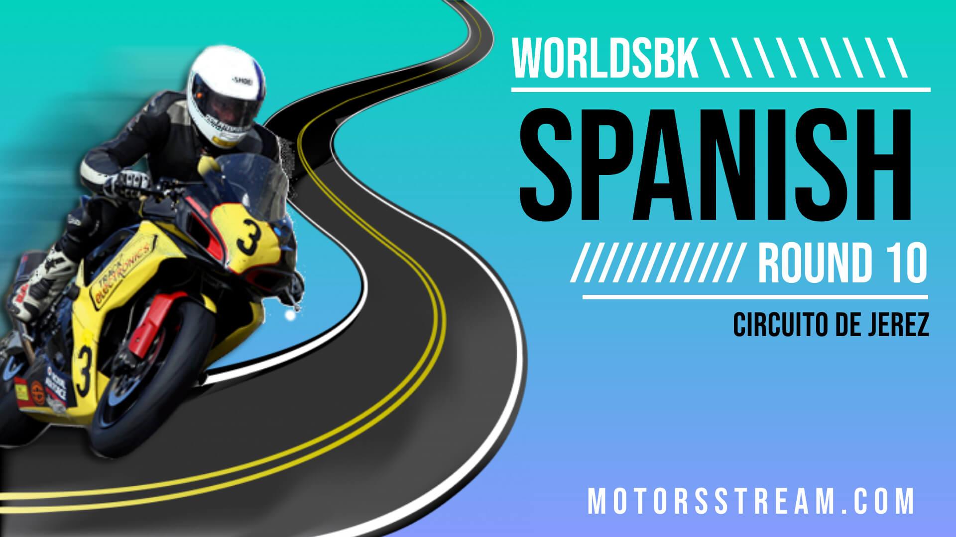 Spanish WSBK Round 10 Live Stream 2021