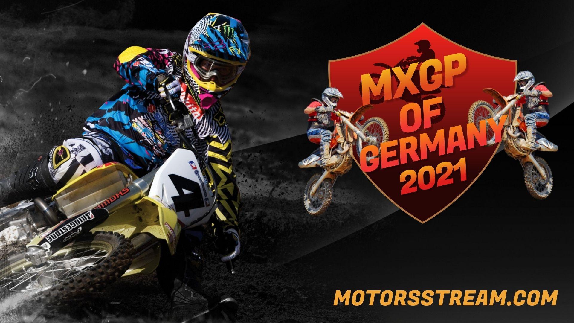 FIM Motocross WC Germany Live Stream 2021 | MXGP