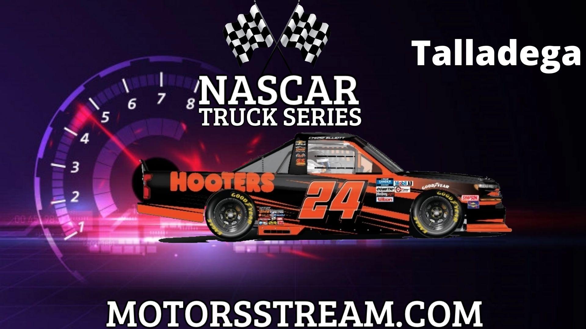 NASCAR Truck Series Race At Talladega Live Stream | Talladega 2021