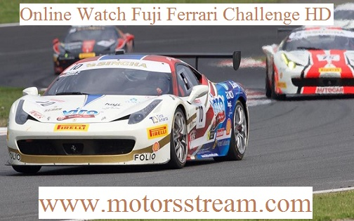 Live Fuji Ferrari Challenge Streaming