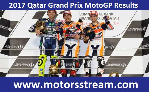 2017 Qatar Grand Prix MotoGP Results