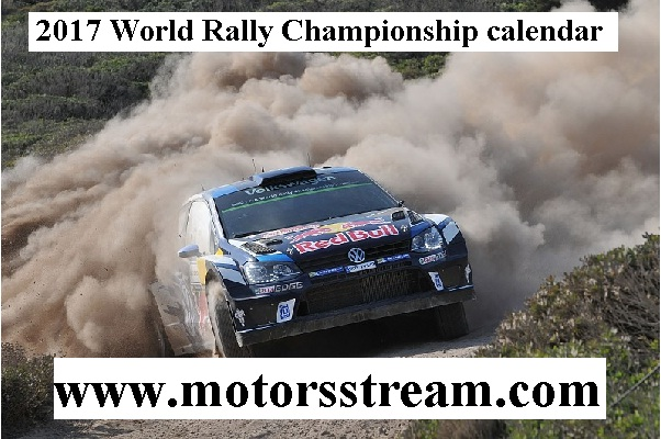 2017 World Rally Championship calendar
