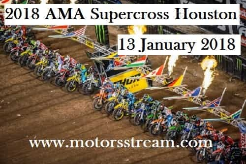 2018 AMA Supercross Houston