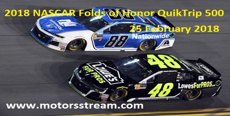 2018 NASCAR Folds of Honor QuikTrip 500