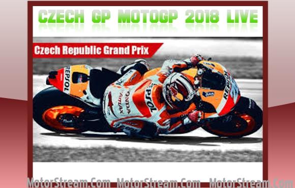 Czech GP MotoGP 2018 Live Online