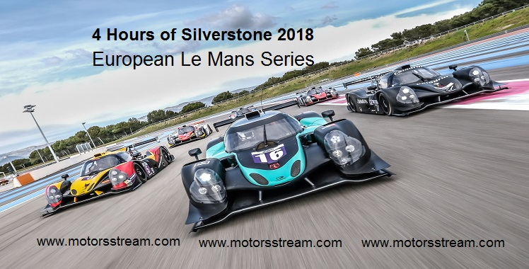Live 4 Hours of Silverstone 2018