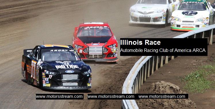 Live Illinois ARCA Race
