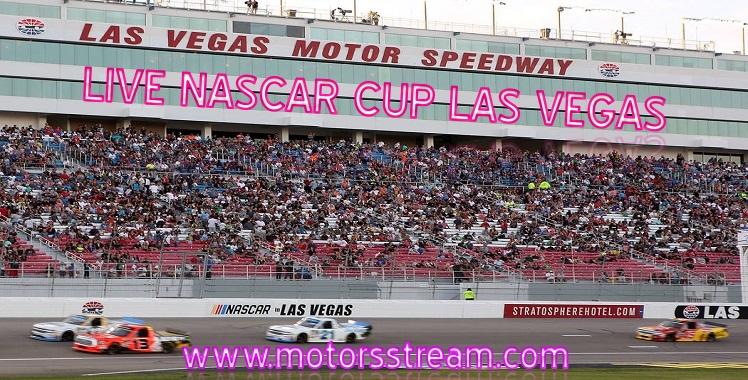 Live NASCAR Cup Las Vegas