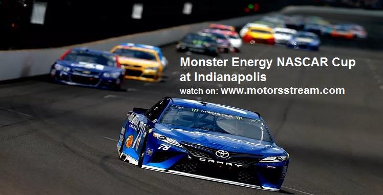 Live NASCAR Cup at Indianapolis