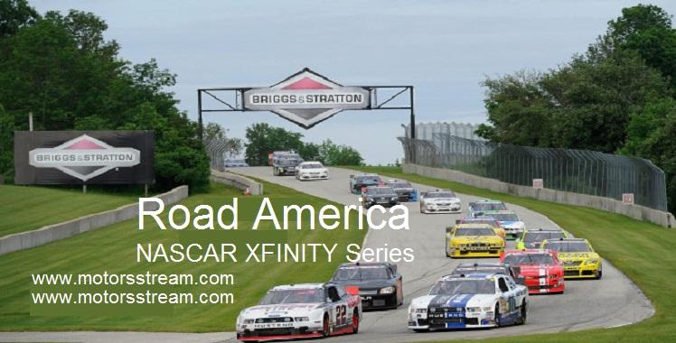 Live Road America NASCAR 2018